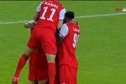 نتیجه بازی شارجه امارات و پرسپولیس در نیمه نخست