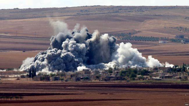 شدت گرفتن درگیری کردها و داعش در  شرق سوریه