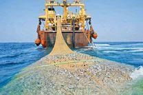 شناور غیرمجاز صید ترال در جاسک توقیف شد