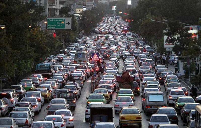 وضعیت ترافیکی و جوی جادهها در 11 تیر