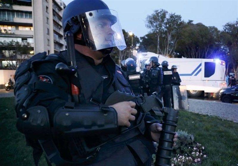 پلیس فرانسه یک مظنون را با روش پلیس آمریکا کشت