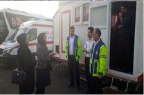 افزایش آمادگی پایگاه های اورژانس جاده ای گیلان جهت ارایه خدمات دارویی