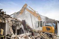 تخریب بنای غیرمجاز تجاری در پی حکم کمیسیون ماده صد