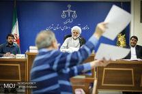 جلسه محاکمه دو متهم پرونده فساد نفتی