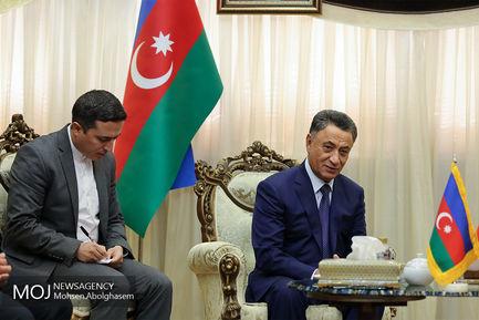 دیدار وزرای کشور ایران و آذربایجان