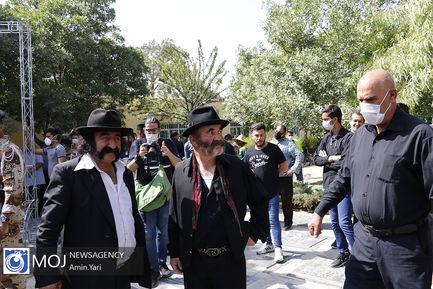 تشییع پیکر سیروس گرجستانی