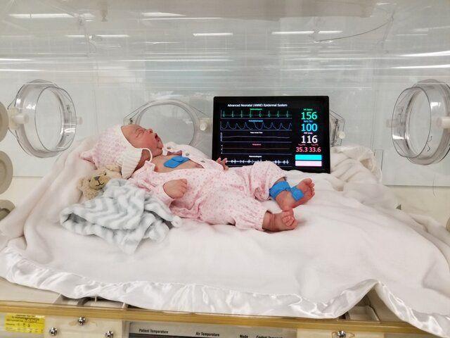 بازگشت به زندگی نوزادی در قشم پس از ۶ بار احیای قلبی–ریوی