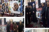 تندیس باشگاه شهید سلیمانی رونمایی شد