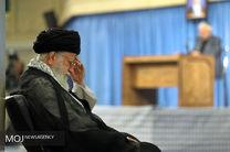 دومین روز مراسم سوگواری حضرت امیرالمؤمنین علیهالسلام با حضور رهبر انقلاب اسلامی