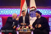 دیدار ظریف با سید عمار حکیم رییس جریان حکمت عراق
