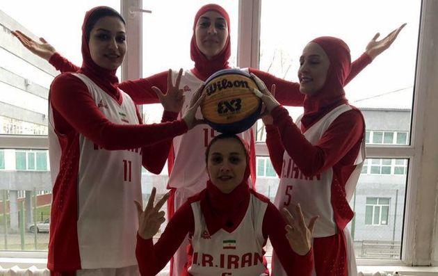 افغانستان حریف نخست بانوان بسکتبالیست در بازی های داخل سالن