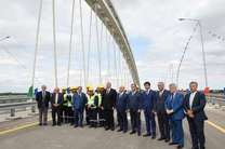 بخشی از جاده جدید الت - آستارا در مرز ایران افتتاح شد
