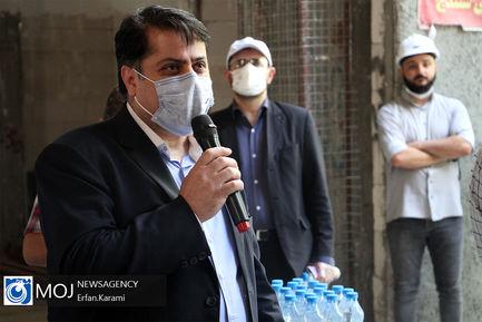 بازدید فعالان خانه احزاب از طرح های عمرانی استان کردستان