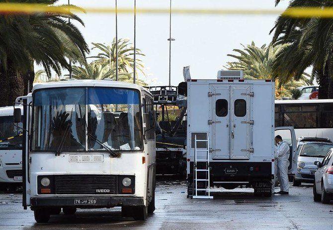 تصادف اتوبوس حامل گردشگران در تونس، ۲۲ کشته برجا گذاشت