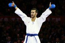 ملی پوش کاراته ایران در ترکیب تیم ستارگان جهان