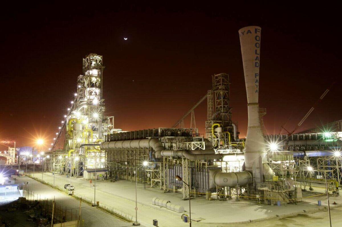 فولاد هرمزگان رکورددار سومین جهش تولید در واحد احیا مستقیم