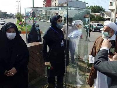 مجسمه پرستار شهید غیر اصولی و دور از شان این شهید سلامت است/مسئولان مراقب عواقب کارشان باشند