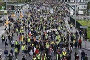 تظاهرات جلیقه زردها در فرانسه وارد هفته چهل و پنجم شد