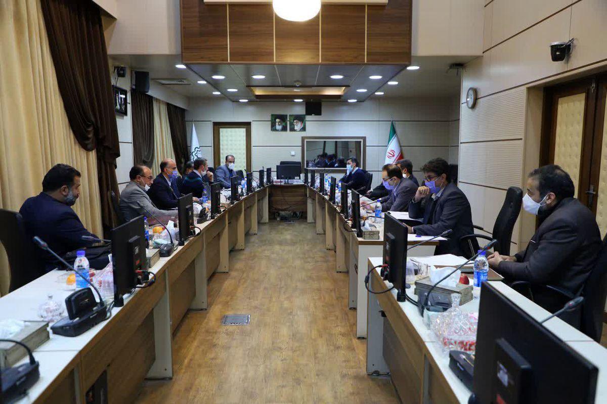 جلسه شورای سازمان پایانههای شهرداری قم برگزار شد