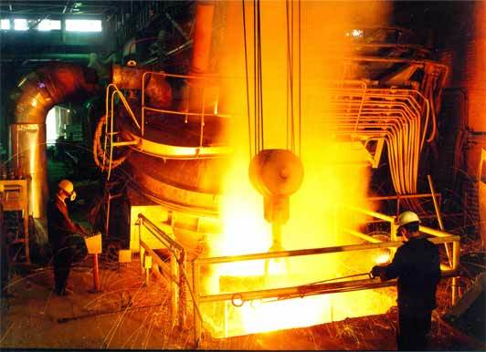 کاهش ۲۵درصدی کک با تزریق پودر زغال در ذوب آهن اصفهان