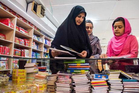 گشایش نمایشگاه فروش پاییزه ویژه مدارس در بندرعباس