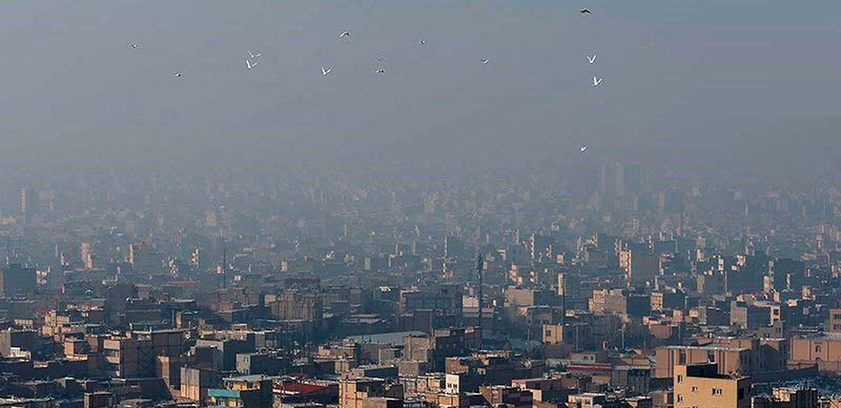 وضعیت هوای تهران در کدام مناطق شهر قرمز است؟