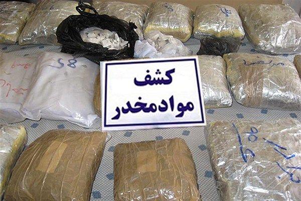 کشف بیش از 110 کیلوگرم تریاک و هروئین  در اصفهان