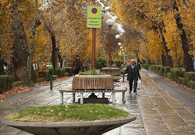 کیفیت هوای اصفهان امروز با میانگین ۸۷ در شرایط سالم است