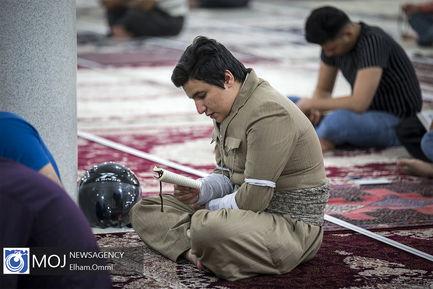 احیای شب بیست و سوم ماه مبارک رمضان اهل سنت در سنندج