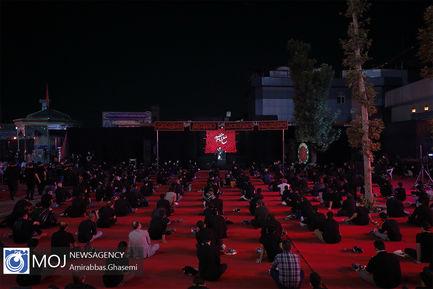 عزاداری شب چهارم ماه محرم در امامزاده صالح (ع)