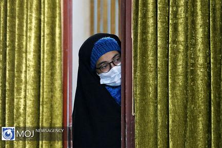 حضور رییس قوه قضاییه در مسجدالنبی (ص) شهرک انقلاب شاهرود