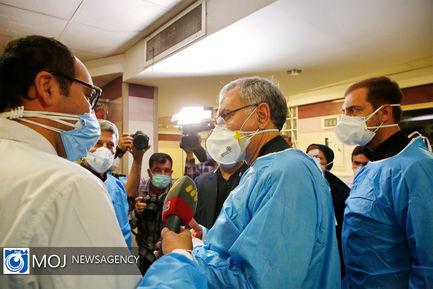 بازدید وزیر جدید بهداشت از بیمارستان حضرت رسول اکرم (ص)