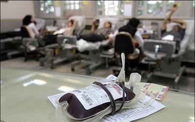 اهدای سالانه حدود 75 هزار واحد خون