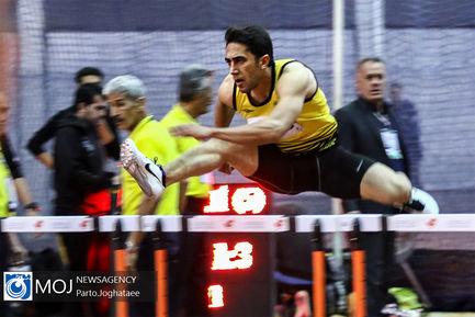 مسابقات دو و میدانی داخل سالن جام فجر