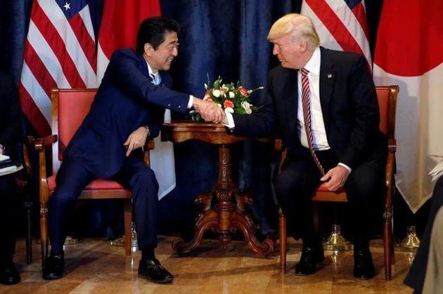 توافق رهبران آمریکا و ژاپن برای افزایش فشارها علیه کرهشمالی