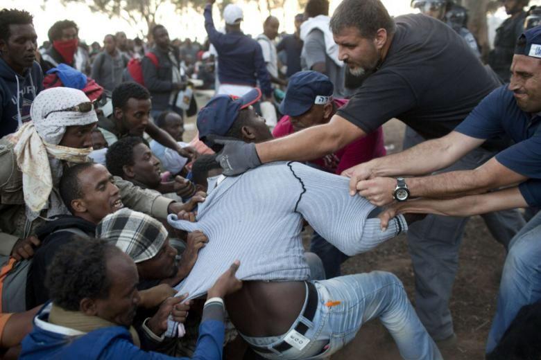 دولت اسرائیل از شهروندانش خواست برای اخراج آفریقایی ها بسیج شوند