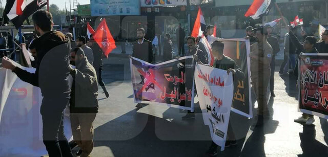 تشییع پیکر شهید سلیمانی و ابومهدی المهندس در کاظمین برگزار شد