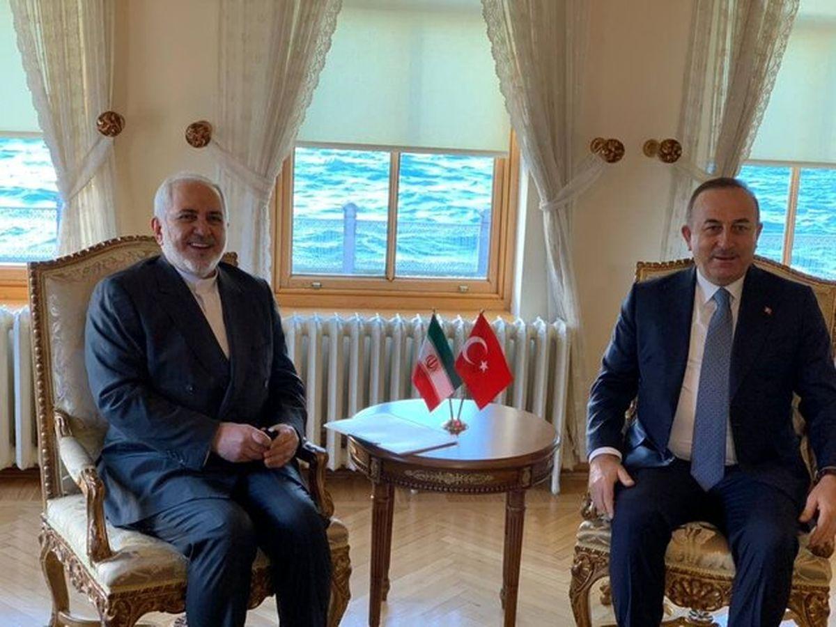دور اول گفتگوهای ظریف با وزیر خارجه ترکیه برگزار شد