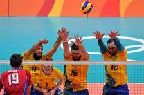 برزیل از روسیه انتقام گرفت و فینالیست والیبال مردان المپیک شد