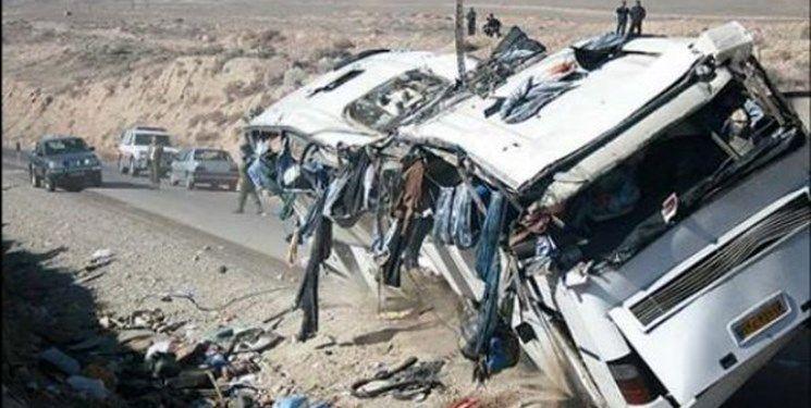 66 کشته و زخمی به دنبال تصادف 2 اتوبوس زائران ایرانی در عراق