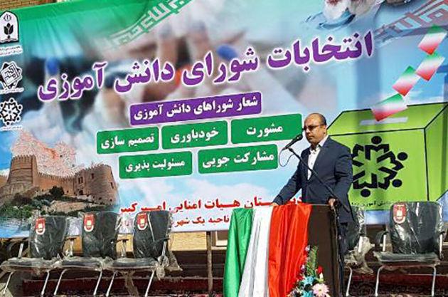 شورای دانش آموزی عنصر رشد و تعالی آینده سازان ایران و لرستان است