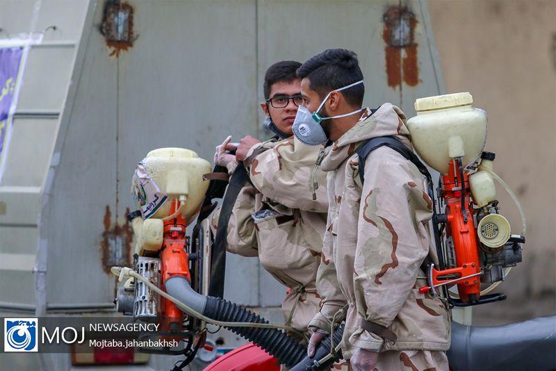 مراسم رزمایش دفاع بیولوژیک سپاه الغدیر استان یزد انجام شد
