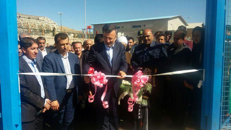 دو پروژه ورزشی به مناسبت هفته تربیت بدنی و ورزش در کردستان افتتاح شد