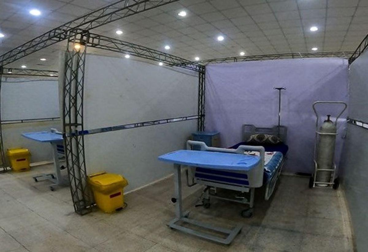 بازدید سرزده دریادار تنگسیری از بیمارستان بحران بندرعباس