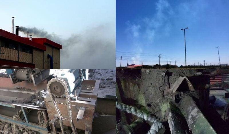 پلمب یک واحد تولیدی آلاینده در شهرستان شاهین شهر و میمه
