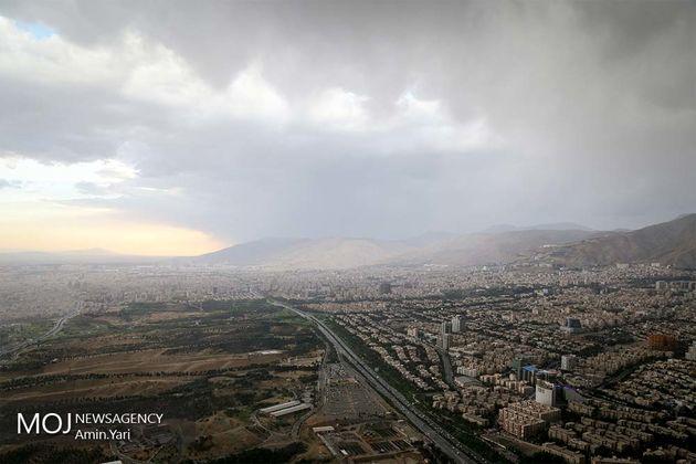 کیفیت هوای تهران در 11 تیر ناسالم است