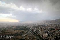 کیفیت هوای تهران در اول شهریور سالم است