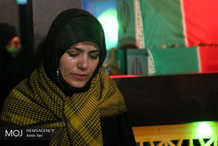 وداع با شهیدان مدافع حرم پایگاه هوایی تیفور سوریه