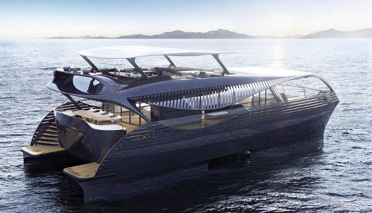 ارائه طرح اولیه قایق تفریحی خورشیدی