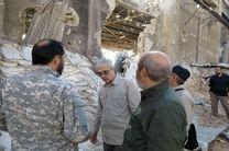 سردار باقری از نزدیک در جریان عملیات ضد تروریستها قرار گرفت